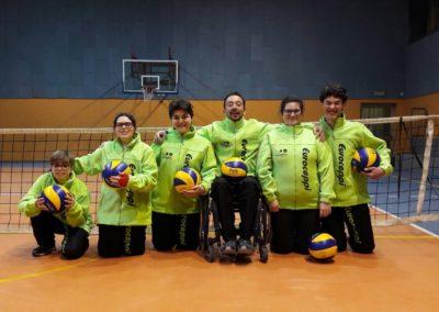 Palestra gruppo sitting volley 1
